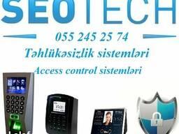 ✓Biometrika ✓ Kartla Keçid ✓ Barmaq izi və s. ✓ 055 245 25 7