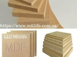 Плита МДФ шлифованная ламинированнаоптом MDF LLC Mitlife