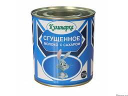 "Сгущенное молоко ""Кулинарка"" с сахаром 370 гр"
