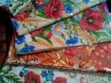 Скатерти, полотенца в украинском стиле, лён-рогожка - фото 5