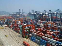 Услуги в порту Баку Азербайджан