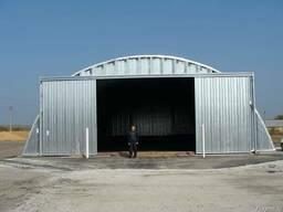 Зернохранилища напольного типа - стальные зерносклады - фото 3