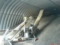 Зернохранилища напольного типа - стальные зерносклады - фото 4