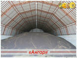 Ангары арочные, склады, цеха, зернохранилища ширина от 8м д - фото 2