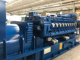 Б/У газовый двигатель MWM TCG 2020 V20, 2000 Квт, 2012 г. в. - photo 3