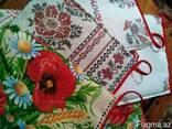 Фартуки, прихватки в украинском стиле, хлопок - фото 4