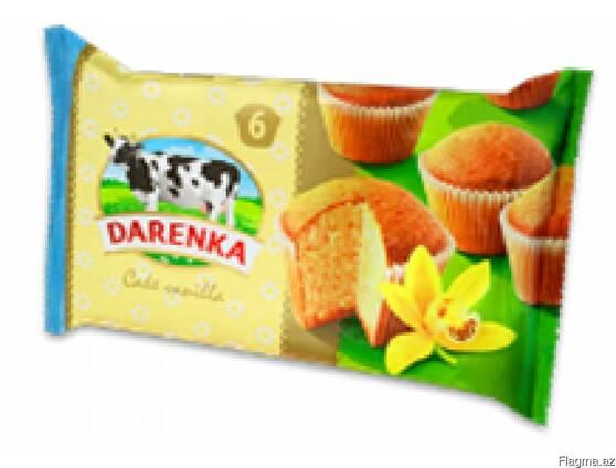 """Кекс"""" Darenka"""" Ваниль\тоффи\шоколад\клубника"""