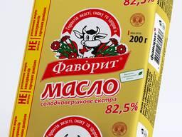 """Масло сливочное натуральное """"Фаворит"""" ГОСТ"""