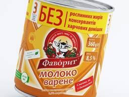 Молоко цельное сгущенное вареное Фаворит 8,5% жирности
