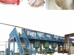 Оборудование для вытопки, плавления и переработки животного жира сырца в технический жир
