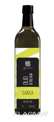 """Оливковое масло """"SANSA"""" Он лучше всего подходит для здорового жарения блюд,"""