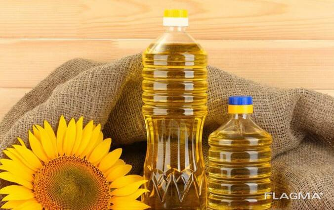 Масло подсолнечное   Refined and unrefined sunflower oil