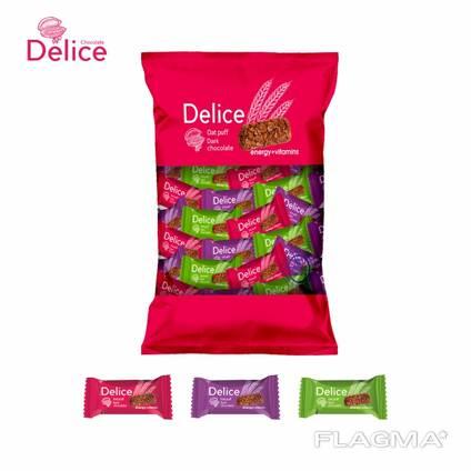 Шоколад из овсяных хлопья Delice шоколадный