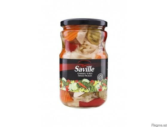 """Смешанные соленья """"Saville"""" 700 гр"""