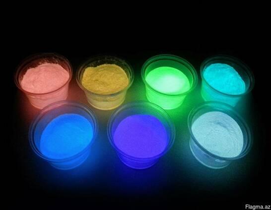 Светящийся порошок люминофор (ассортимент) пробников