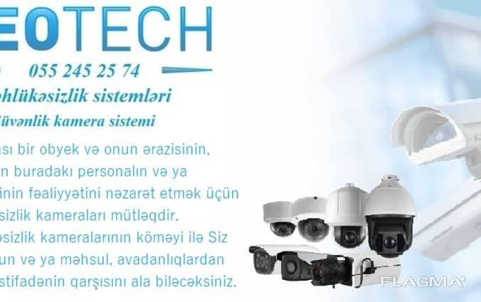 Təhlükəsizlik kameralarının satışı