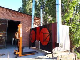 "The charcoal kiln – ""Farmer Standard Plus- K"" with boiler"
