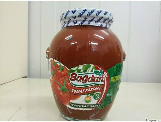 "Томатная паста ""Bağdan "" 620 гр"
