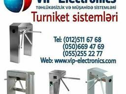 VİP Turniket sistemləri