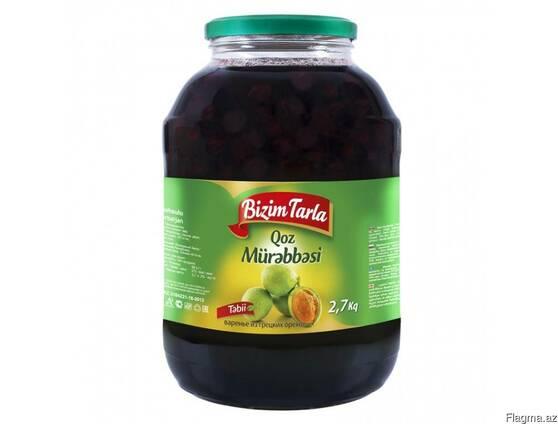 """Варенье """"Bizim tarla"""" из ореха 2,7 кг"""