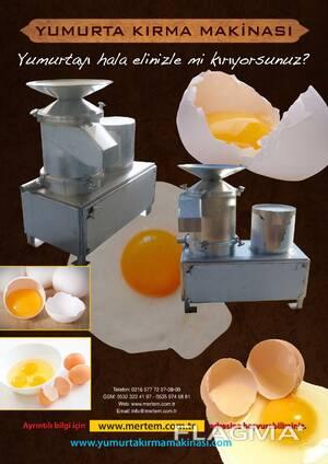 Yumurta kırma makinası